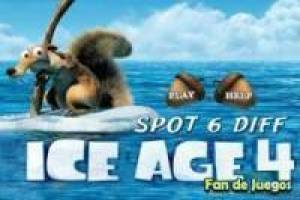 Ice Age 4: Le differenze